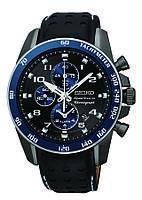 Мужские часы Seiko SNAF37  Sportura Chronograph Black Dial