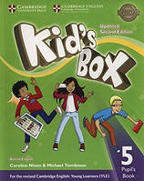 KID'S BOX UPDATED 2ND EDITION 5 PUPIL'S BOOK