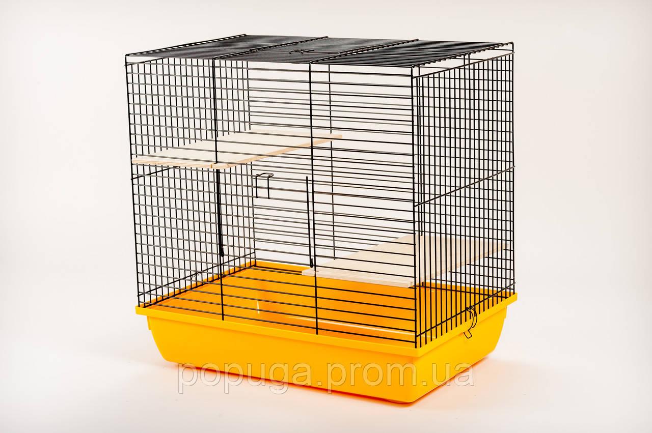 Клетка для грызунов, эмаль CHINCHILLA 60 InterZoo 58*38*57 см