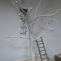 Игровой стенд для крупных попугаев