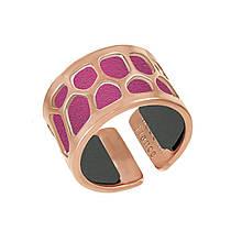 Кольцо со вставкой из натуральной кожи, размер 18.5 (1532676)