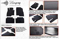 Mazda 6 2013+ гг. Резиновые коврики (4 шт, Stingray Premium)