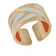 Кольцо со вставкой из натуральной кожи, размер 18.5 (1532601)