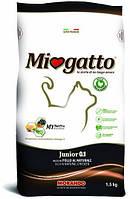 Miogatto Junior 0.1 корм для котят КУРИЦА, 1,5 кг