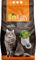 Наполнитель туалетов для кошек BioKitty Super Premium White (5 л)