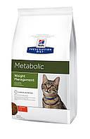 Hill's Prescription Diet Metabolic Weight Management корм для кошек КУРИЦА, 1.5 кг