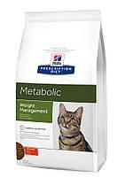 Hill's Prescription Diet Metabolic Weight Management корм для кішок КУРКА, 4 кг