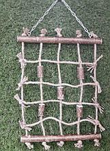 Веревочная сеть - игрушка для попугаев
