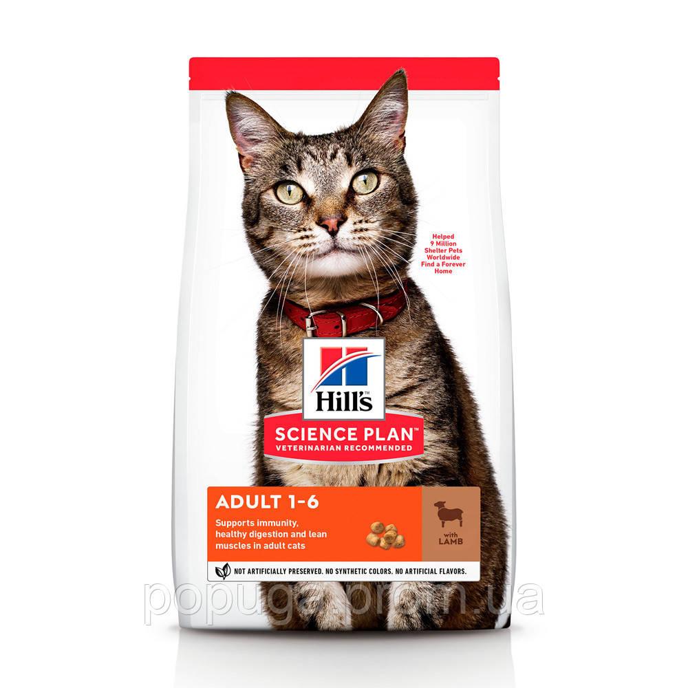Hill's Science Plan Adult Optimal Care корм для кошек с ягненком, 1,5 кг