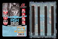 Alpha Spirit Fish Sticks - палочки с рыбой для собак, 16 шт