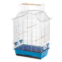 Клетка для попугая Inter-zoo GRETA хром, 495x305x660(cabrio 750)