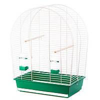Клетка для попугаев  SYLWIA III белая, 590x340x750