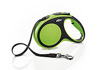 Рулетка Flexi New Comfort лента, M 5м/до 25кг зеленый