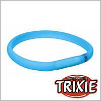 Светящийся USB ошейник для собак Trixie, 35см