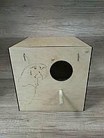 Гнездо для попугаев #2 31*32*30