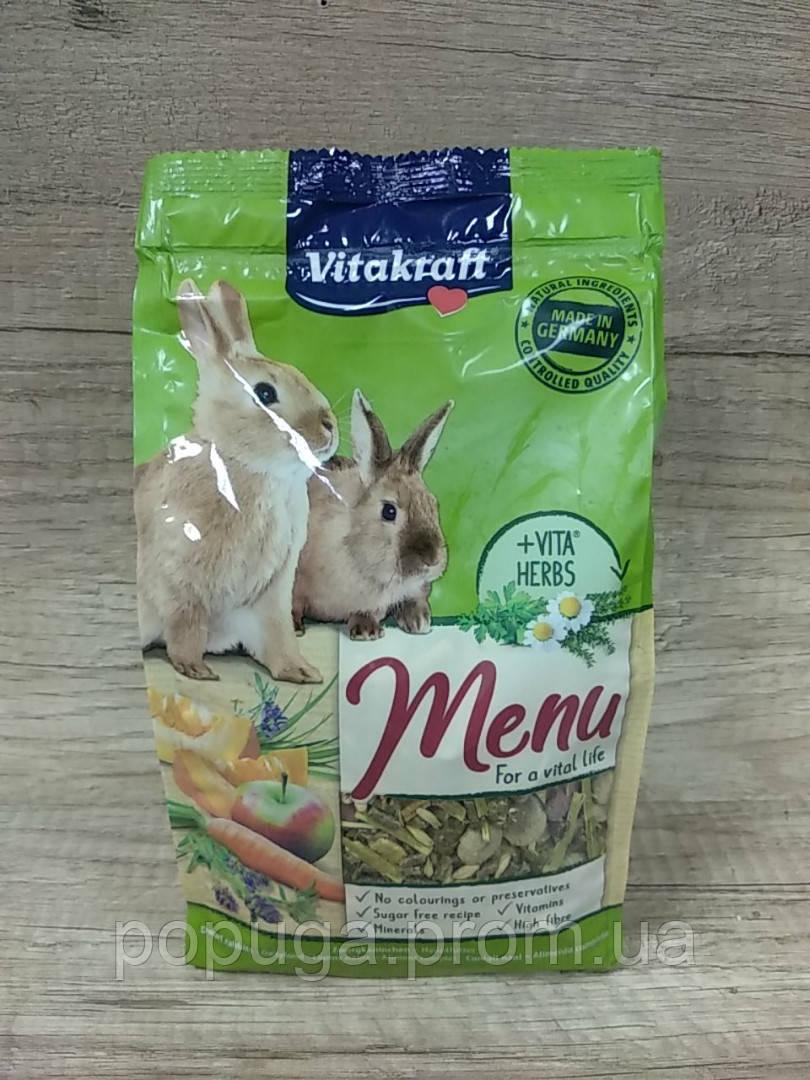 Vitakraft Menu Vital для кроликов, 1 кг