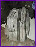 Школьный повседневный рюкзак Серый, фото 4