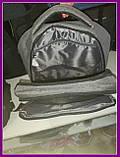 Школьный повседневный рюкзак Серый, фото 6