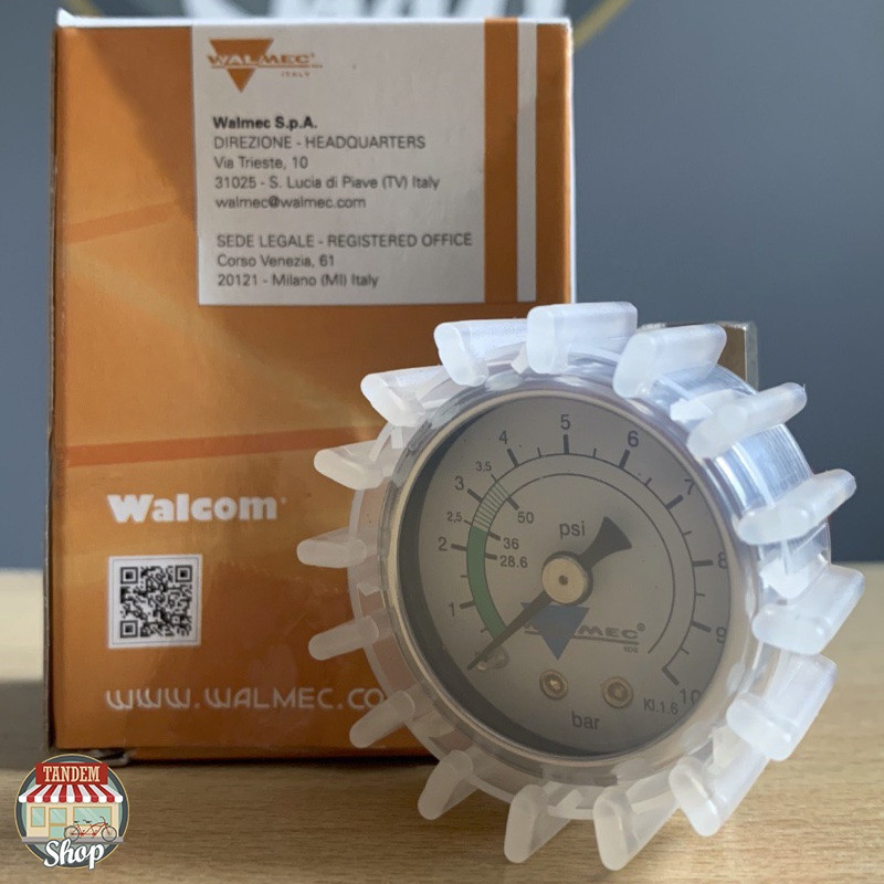 Регулятор давления воздуха с манометром Walcom 90105/W