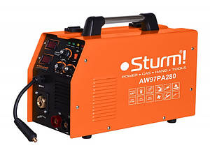 Сварочный инверторный полуавтомат Sturm AW97PA280 (MIG/MAG,MMA, 280А)