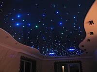 """Натяжные потолки """"Звёздное небо"""""""