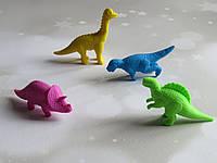 Ластик динозаврики 4 штуки в комплекті