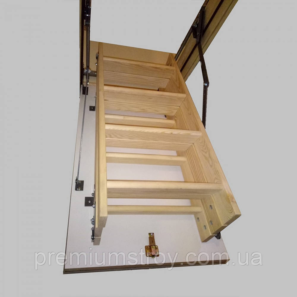 Чердачная лестница Hot Step long 120х70 см