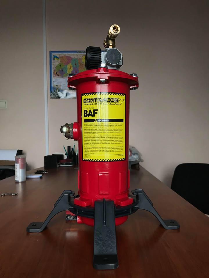 Фильтр очистки воздуха дыхания BAF-1 Contracor, двухпостовой