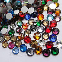 "Стразы ss6 Mixed colors, 1400шт.(1,9-2мм) ""Crystal Premium"""