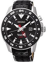 Мужские часы Seiko  SUN015P2 Sportura Kinetic GMT Sapphire