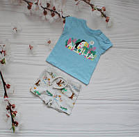 Комплект із футболки та шортиків