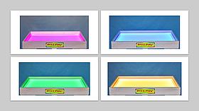 Світлова пісочниця 50х33см Art&Play® вільха кольорове світло