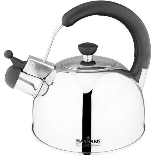 Чайник для плиты MAXMARK MK-1307 (нерж., 2.5 л.)