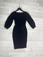 Женское черное платье PrettyLittleThing, оригинал, Великобритания, размер L(Укр 44-46)