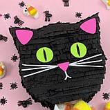Піньята кішка кішечка паперова для свята піната Кіт котик Кітті піньята, фото 6