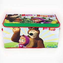 Коробка для хранения вещей Маша и Медведь SKL18-254806