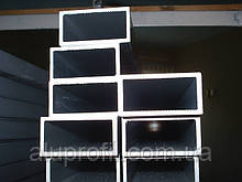 Алюминиевый профиль — труба алюминиевая прямоугольная 40х25х2 Б/П