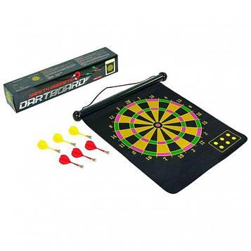 Мишень для игры в дартс магнитная, двухсторонняя .