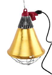Защитный плафон для лампы с переключателем и радиатором
