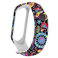 Силиконовый ремешок ТУРЕЦКИЙ ОГУРЕЦ на фитнес часы Xiaomi mi band 3 / 4 браслет аксессуар замена
