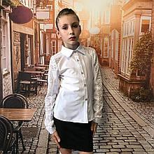 Школьная блуза для девочки, 146см