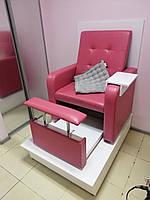 Педикюрные кресла с кожзама , мебель для салонов красоты, фото 1
