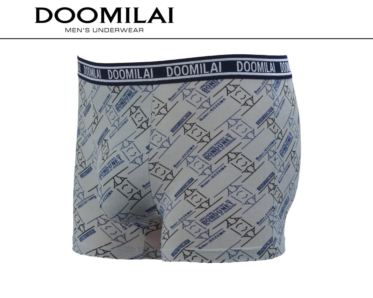 Мужские боксеры стрейчевые из бамбука «DOOMILAI» Арт.D-01259