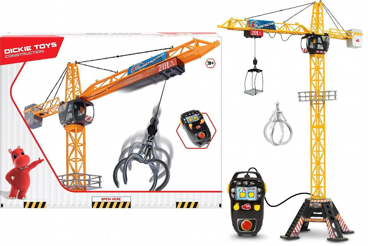 Кран на дистанционном управлении, 120 см Dickie Toys 3462412 (1139012)