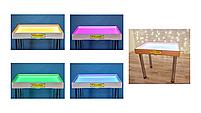 Стіл для малювання піском 70х50см Art&Play® вільха кольорове світло, фото 3