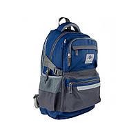 Рюкзак молодежный SMART TN-05 Rider, сер/син                                              , фото 1