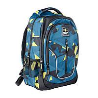 Рюкзак школьный SMART TN-07 Global, черн/бирюз.                                           , фото 1