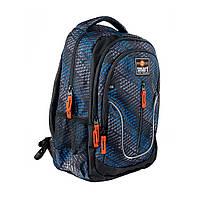Рюкзак школьный SMART TN-07 Global, черн/син                                              , фото 1