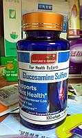 Капсулы Глюкозамин хондроитин сульфат, профилактика и лечение суставов, 100 шт.