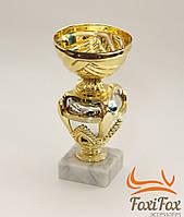 Кубок призовой на мраморной подставке